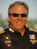 Crew Chief Alan Johnson, © Copyright 1995-2006, NHRA. All logos and images are reserved.
