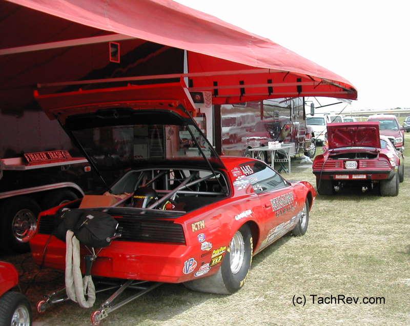 Frank and Trudy Johengen 2008 NHRA Spring Nationals Houston,TX ...