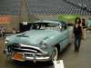 This Hudson Hornet was her first viewed favorite at the show