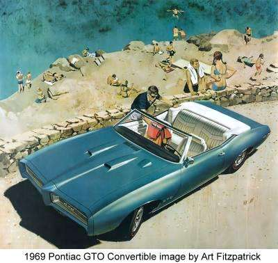 1969 Pontiac GTO Convertible image by Art Fitzpatrick