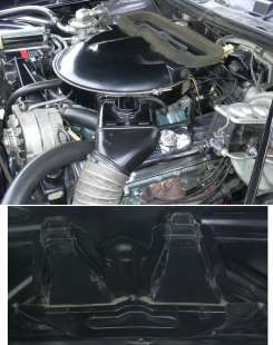 Air Cleaner and NACA hood structure mount of functional Grand Am Ram-Air Induction System