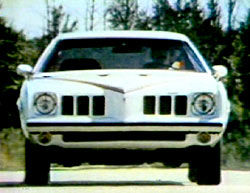 Image from 1973 Grand Am commercial.