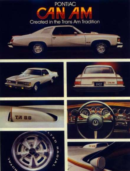 Can Am created in the Trans Am tradition Ad.