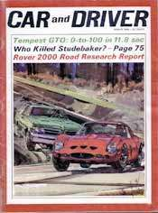 GTO vs. GTO: Car and Driver, March 1964