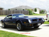 Front view of Howards 74 455 Trans Am.
