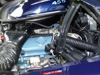 Engine view of Howards 74 455 CID Trans Am.