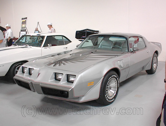 Drivers side view of Jim Wangers 1979 TATA - Tenth Anniversary Trans Am.   This TATA has only 52 miles on the odometer. It is an all original Pontiac from Jim's private collection.
