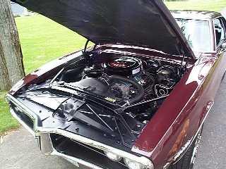 Greg Edgerton's resurrected 1968 Firebird