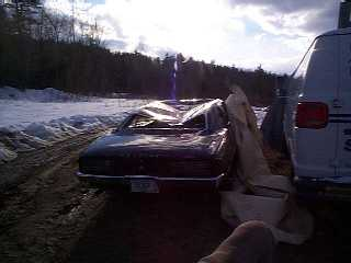 Continuation of the text of what happened to this sweet 68 400 Firebird is from the owner - Greg Edgerton