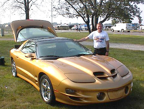 Ultra Rare - Gold 4th Generation Trans Am.  When was the last time you saw one driving down the street!??