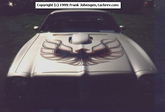 Quot red amp charcoal trans am bird