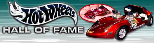 The History and Design of Hot Wheels® are included in the Hall of Fame displays! TWIN MILL shown here in full and collectable scales.