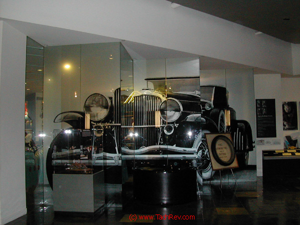 Duesenberg Glass and Mirrors Main Entrance display