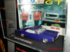 This angle better shows Paul Zazarine's Pontiac GTO book in this Hot Wheels® vehicle display.