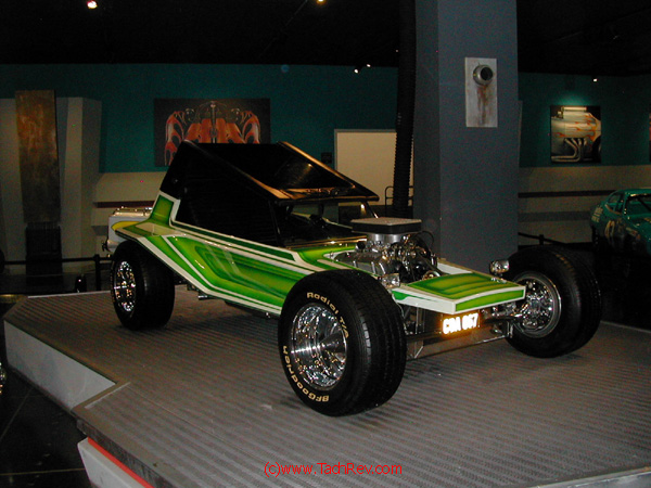 ...stuffed with a small block V-8. Nice Dune Buggy - Yes!