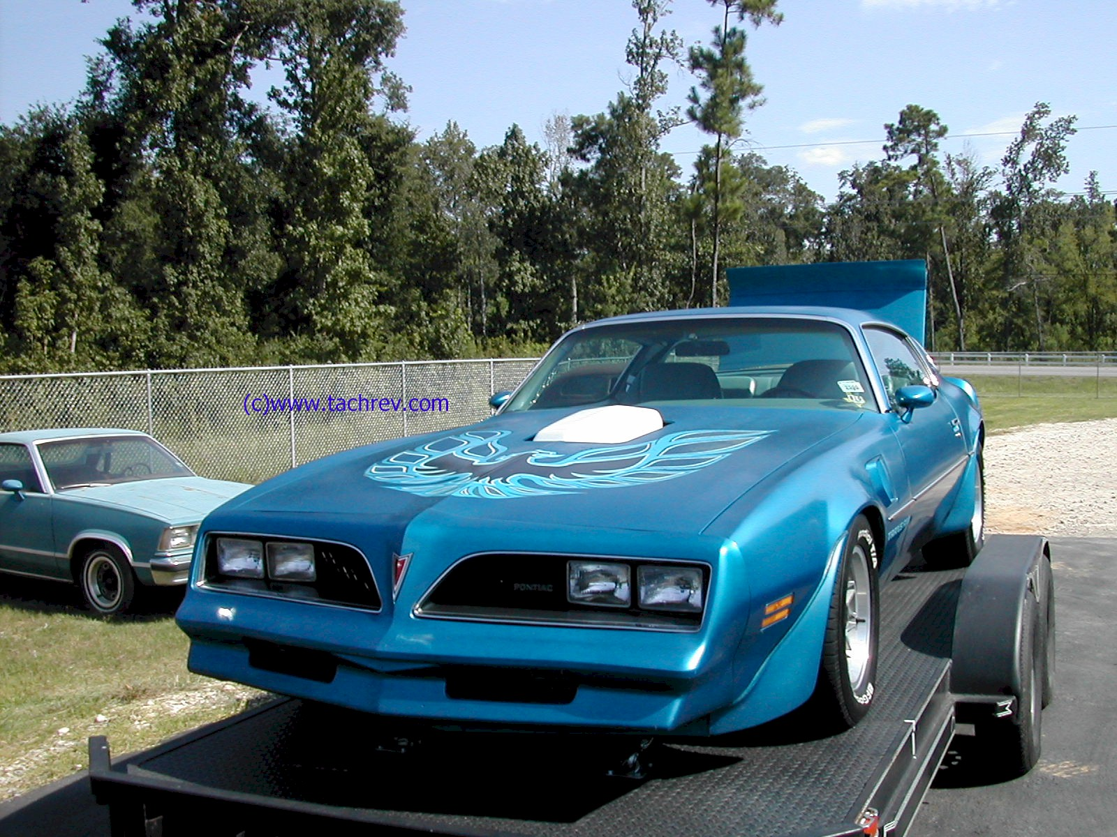 Front 3/4 view of 2nd Generation Trans Am.