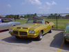 "Quetzal Gold GTO is ""1 of 43"" 1971 455 H.O. GTO Convertibles built by Pontiac"