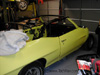 One of several of Glen's current projects is this 1970 GTO convertible