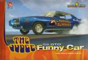 "The ""Hammer Slammer"" Judge '69 GTO Funny Car Model Kit"
