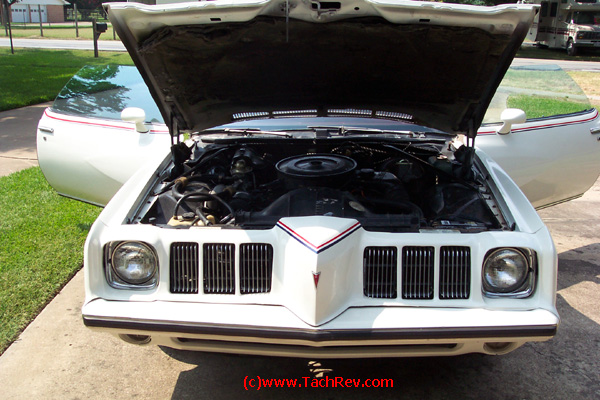 Front view of 1973 Pontiac Grand Am.